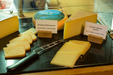 Cheese specialities from the dairy and the alps around Gstaad