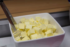 Fresh butter from the Gstaad dairy